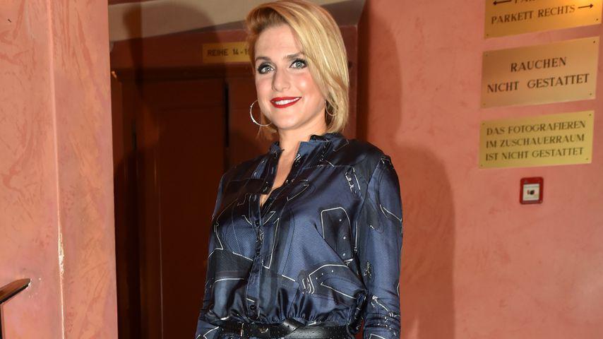 Jeanette Biedermann im August 2017 in München