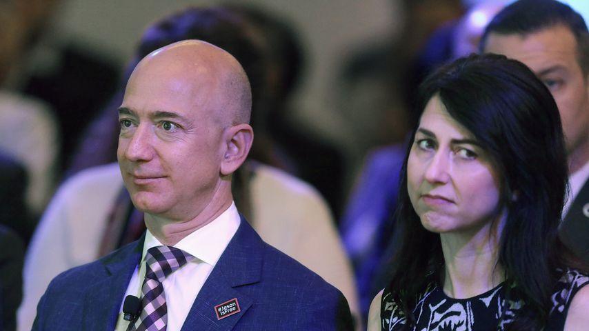 Jeff Bezos und MacKenzie Bezos im Januar 2016 in Washington