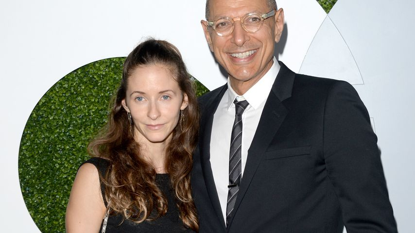 Jeff Goldblum und Emilie Livingston