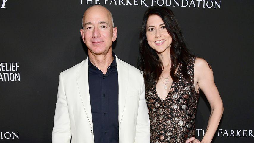 Jeff und MacKenzie Bezos bei einem Charity-Event im Januar 2018