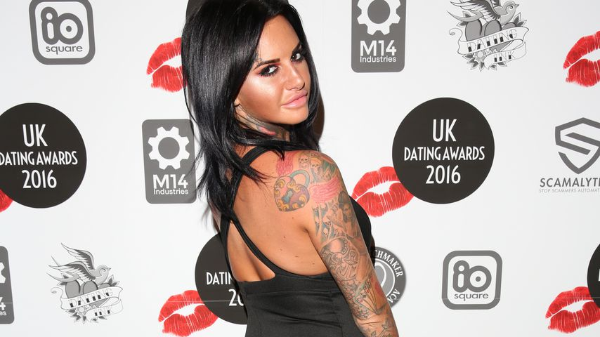 Jemma Lucy bei den UK Dating Awards 2016