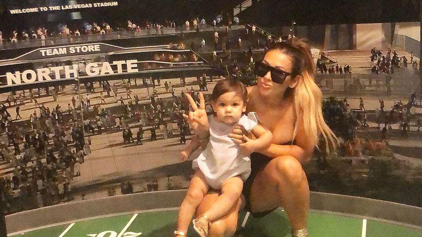 Jen Harley mit ihrer Tochter Ariana