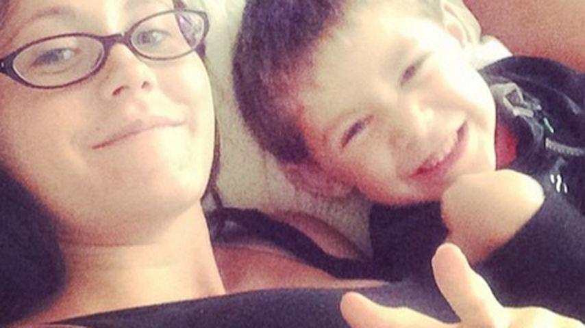 Jenelle Evans mit Sohn Jace uns Ex-Freund Nathan