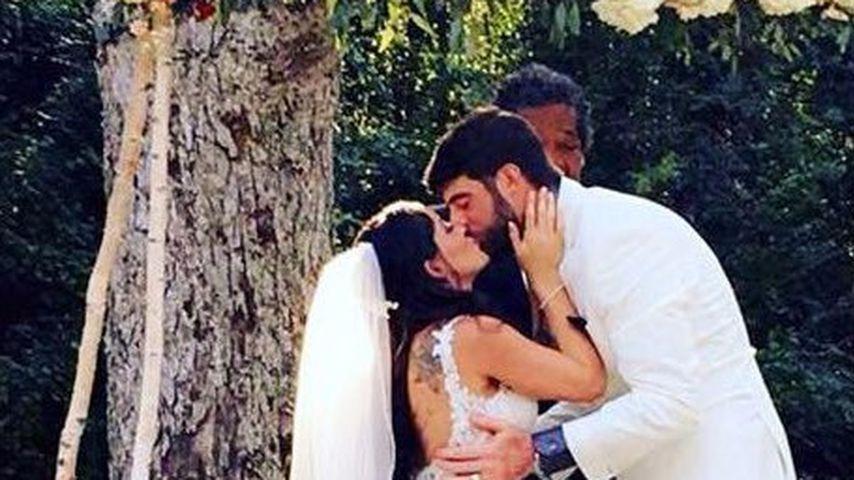 Jenelle Evans und David Eason bei ihrer Hochzeit