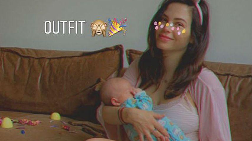 Jenna Dewan und Callum an Ostern