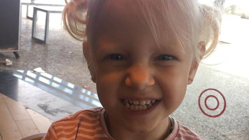 Jenna Soraya Büchner an ihrem dritten Geburtstag