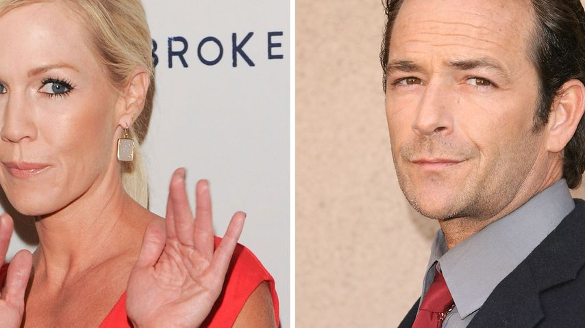 Jennie Garth: Luke Perry zu daten wäre seltsam!