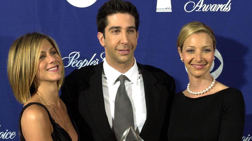Jennifer Aniston, David Schwimmer und Lisa Kudrow
