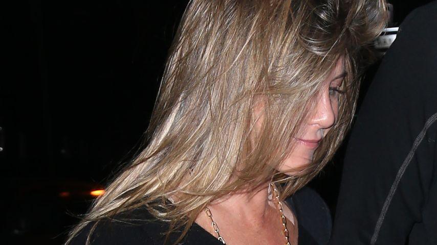 Was ist denn da passiert? Haar-Chaos bei Jennifer Aniston