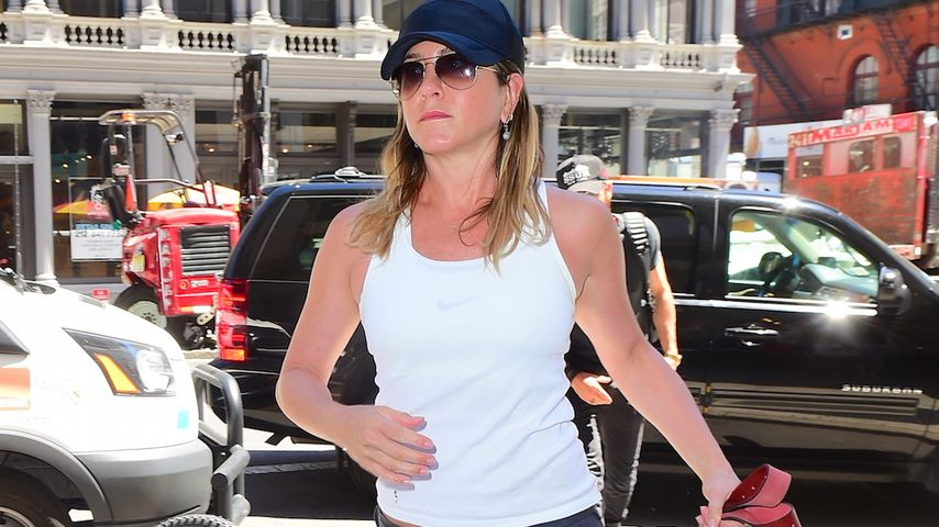 Jennifer Aniston in New York City