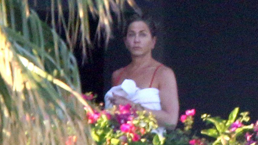Jennifer Aniston im Badeurlaub