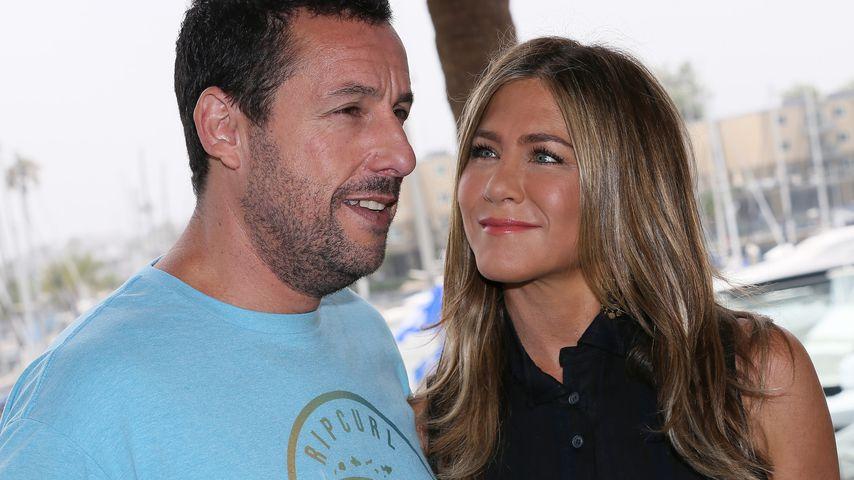 Adam Sandler und Jennifer Aniston
