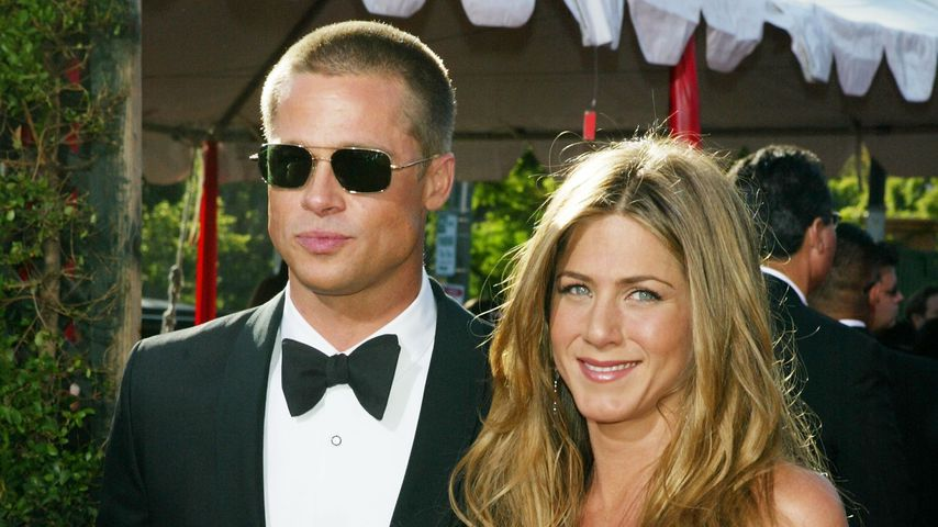 Brad Pitt und Jennifer Aniston im September 2004