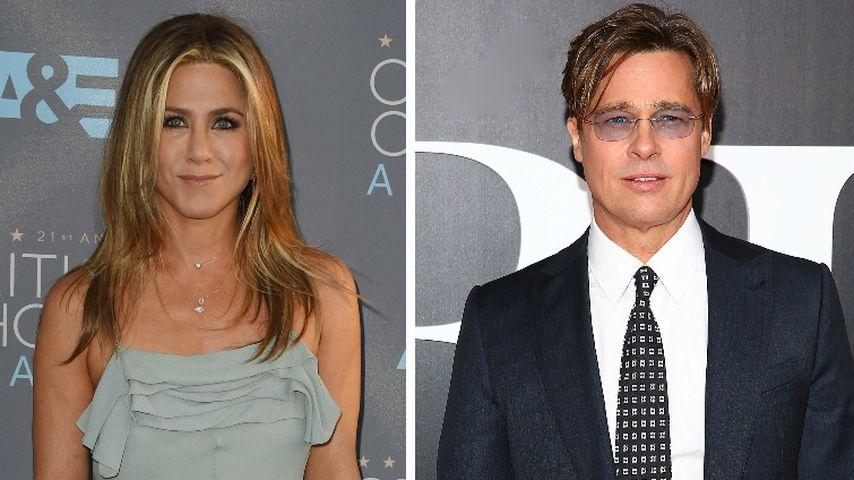 Jennifer Aniston: Traf sie sich etwa heimlich mit Brad Pitt?