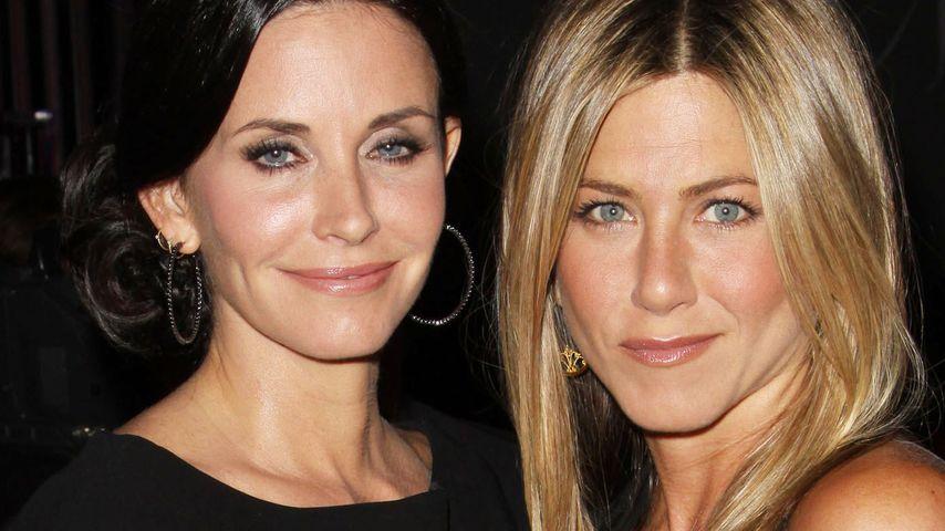 Jennifer Aniston: Total genervt von Courteney Cox?