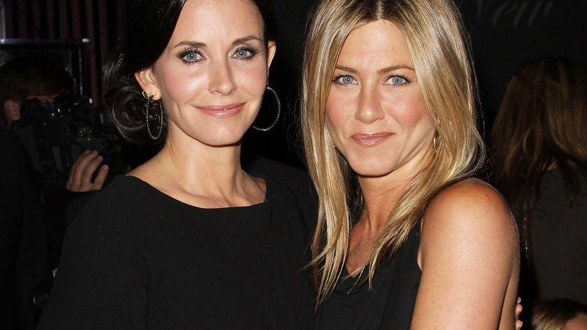 Jennifer Aniston und Courteney Cox