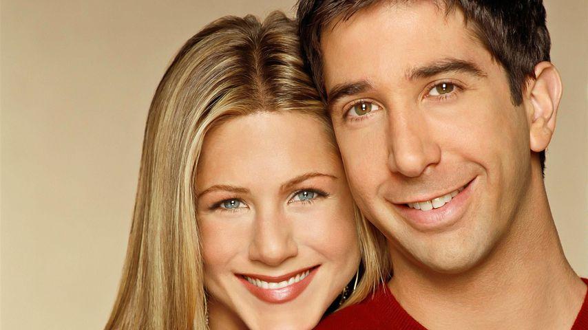Jennifer Aniston und David Schwimmer, 1999