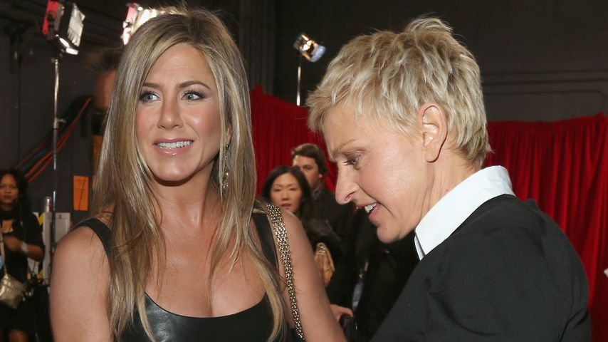 Jennifer Aniston und Ellen DeGeneres bei den People's Choice Awards