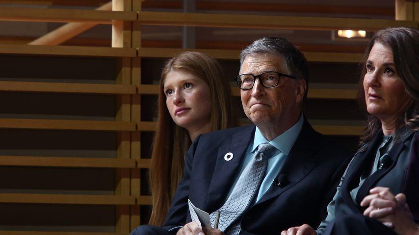 Jennifer, Bill und Melinda Gates