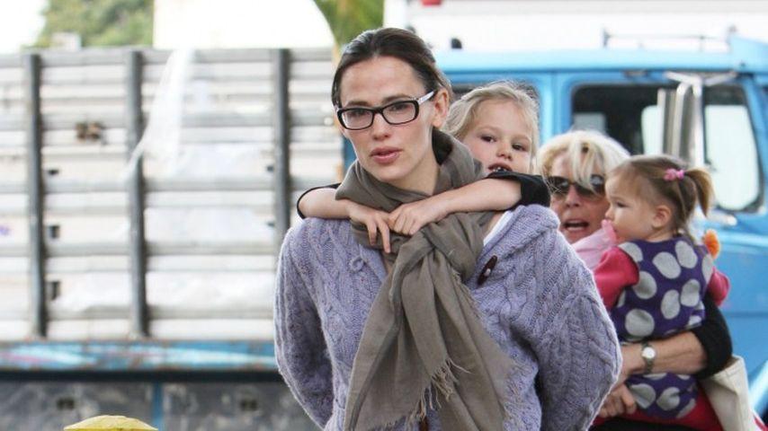 Jennifer Garner: Huckepack zum Kinderspieltag