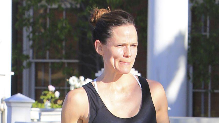 Jennifer Garner vor ihrem Gym in Hollywood