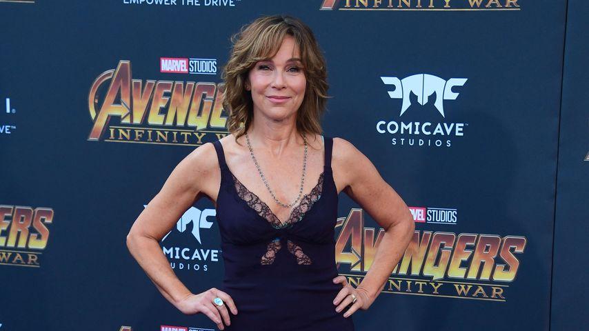 """Jennifer Grey bei der Premiere von """"Avengers: Infinity War"""""""