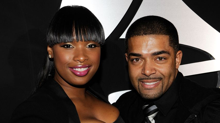 Jennifer Hudson und David Ortunga bei den Grammy Awards 2010