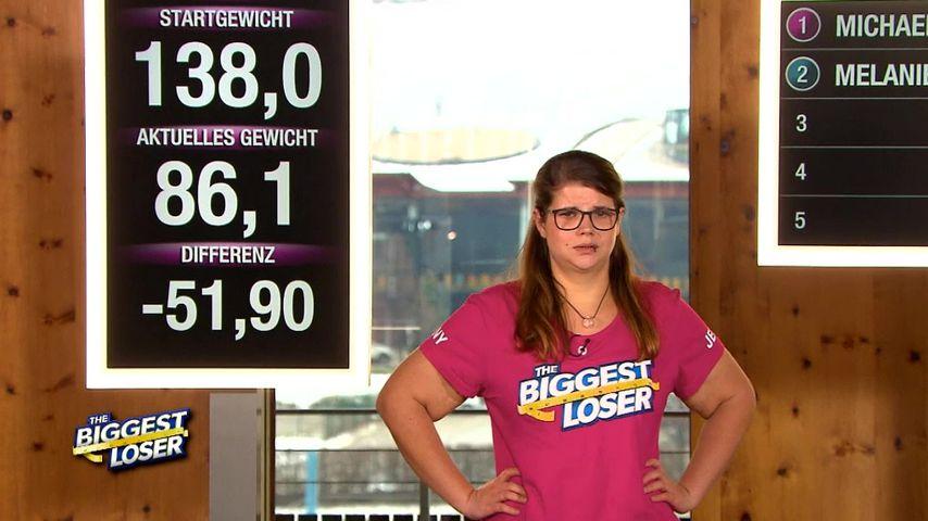 """Jennifer Hummel bei """"The Biggest Loser"""""""