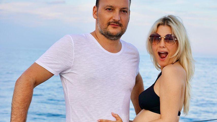 Jennifer Knäble mit ihrem Ehemann Felix Möse