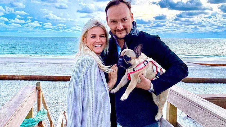 Jennifer Knäble und ihr Mann Felix Moese auf Sansibar im Juli 2020