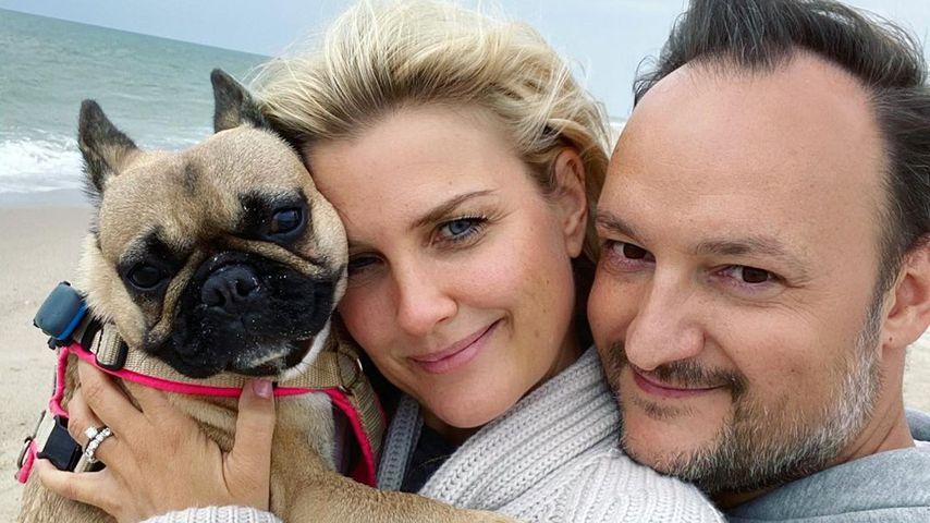 Jennifer Knäble mit ihrem Mann Felix