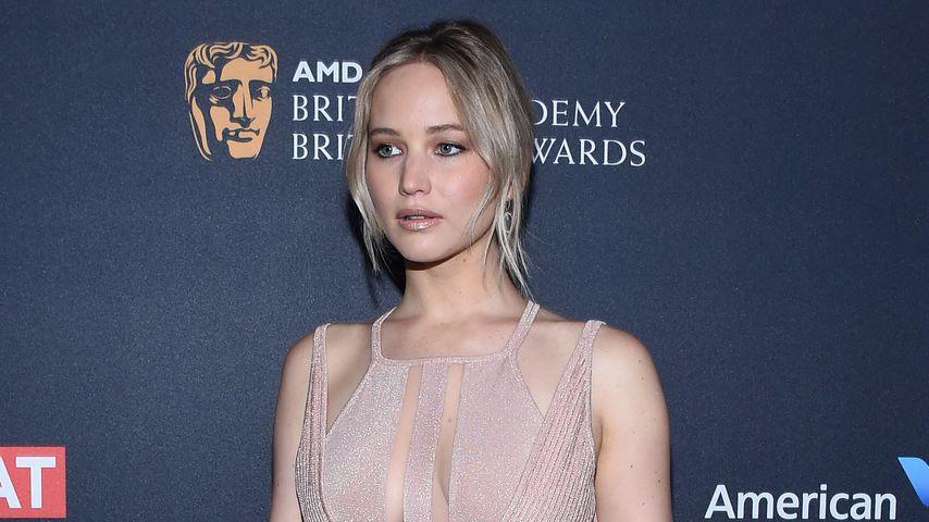Jennifer Lawrence bei den Britannia Awards
