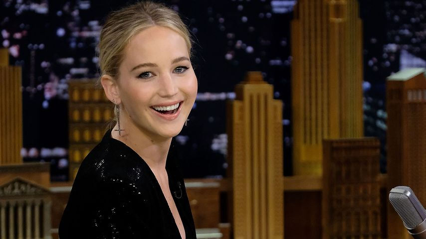 "Jennifer Lawrence zu Gast in der Sendung ""The Tonight Show Starring Jimmy Fallon"""