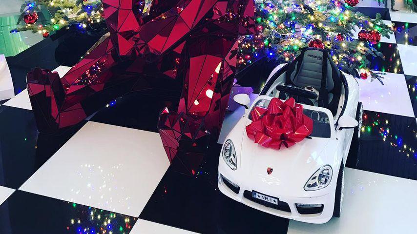 Jennifer Lawrence Weihnachtsgeschenk an Kris Jenner