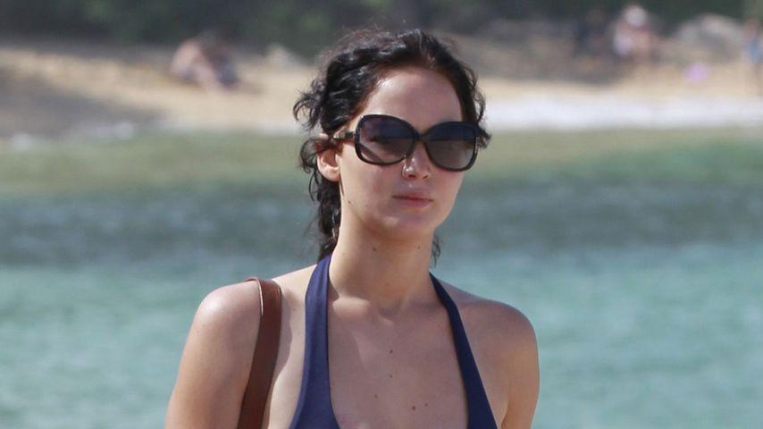 Jennifer Lawrence: Sexy Bikini-Figur auf Hawaii