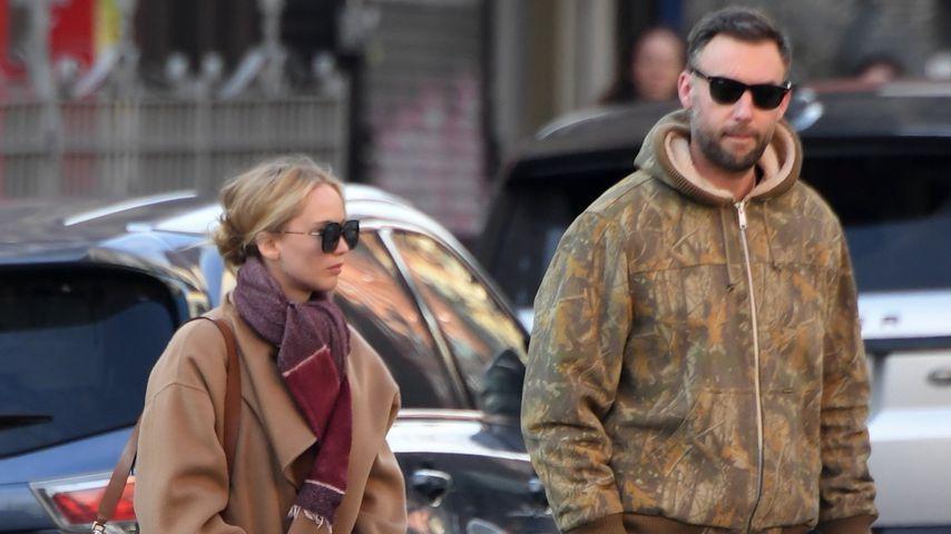 Jennifer Lawrence und Ehemann Cooke verliebt in New York