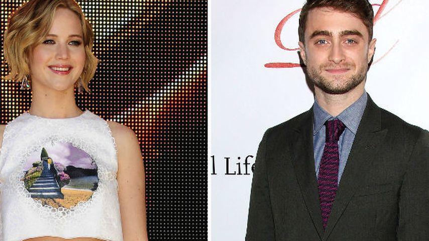 Jennifer Lawrence: Sie schrie Dan Radcliffe nieder