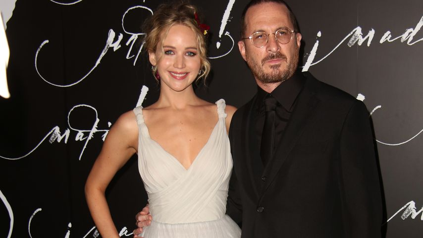 "Jennifer Lawrence und Darren Aronofsky bei der ""Mother!""-Premiere in New York"
