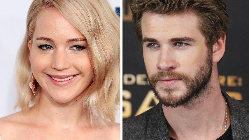 Jennifer Lawrence knutschte auch privat mit Liam Hemsworth!