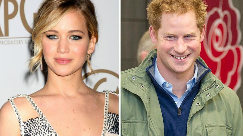 Kein Date: Jennifer Lawrence ließ Prinz Harry abblitzen!