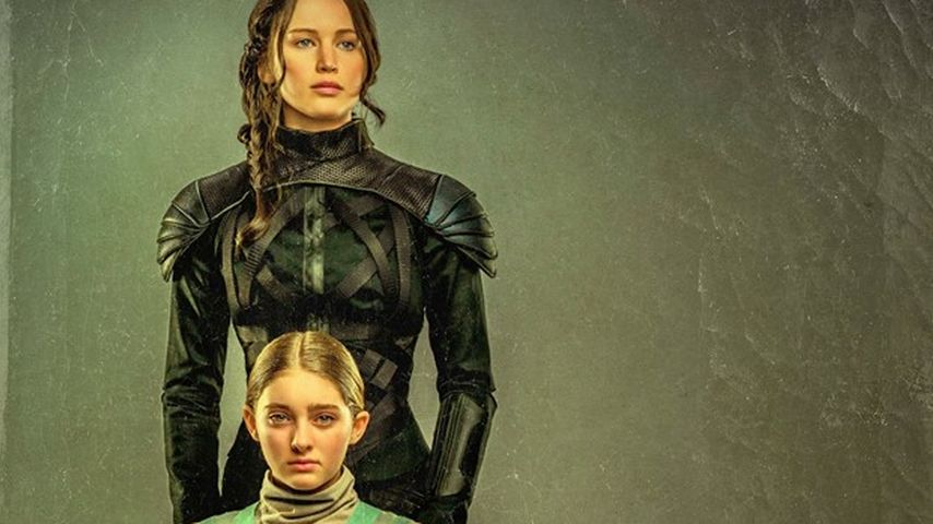 Jennifer Lawrence & Willow Shields im Schwestern-Porträt!