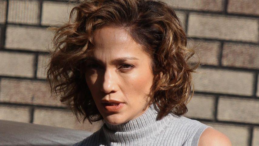 """Jennifer Lopez am Set von """"Shades of Blue"""" in Queens"""
