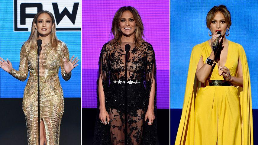 10 Outfits: J.Lo's verrückte Fashionshow bei den AMA's