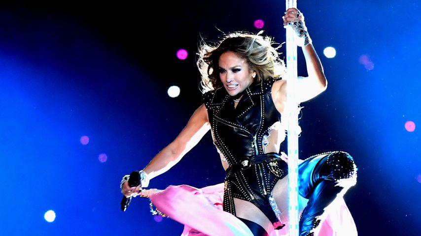 Jennifer Lopez beim Super Bowl 2020