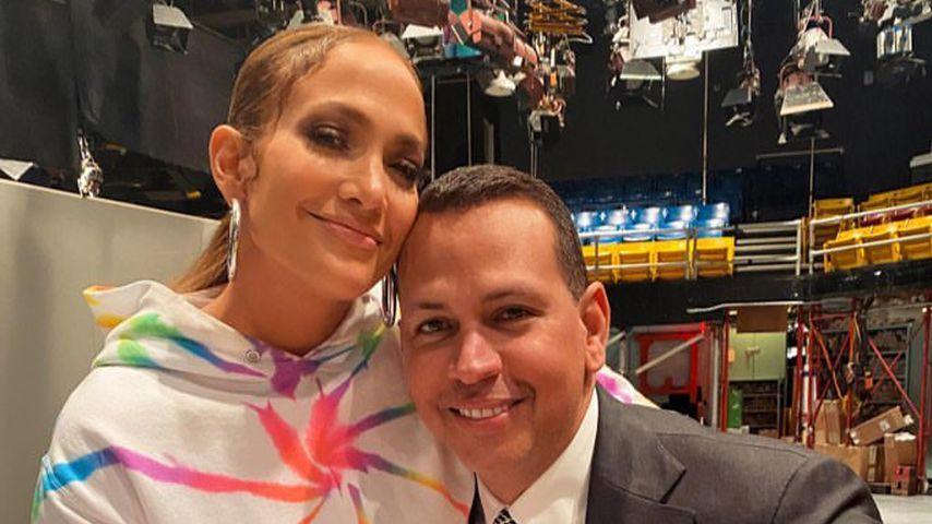 Wie Teenager: Jennifer Lopez und ihr Alex turteln herum!
