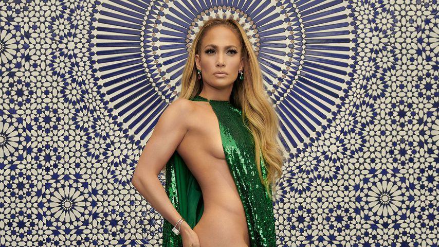 Oh là là: Jennifer Lopez fast komplett nackt in Mode-Magazin