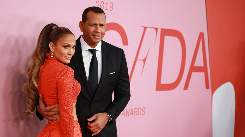 Jennifer Lopez und Alex Rodriguez bei den CFDA Awards im Juni 2019