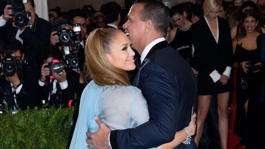 Jennifer Lopez und Alex Rodriguez bei der Met Gala