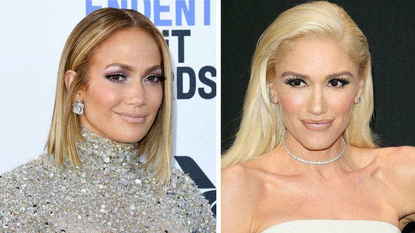 Ohne Botox? J.Lo (51) und Gwen Stefani (51) altern nicht