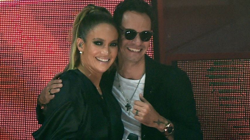 Jennifer Lopez und Marc Anthony in Miami im Oktober 2016
